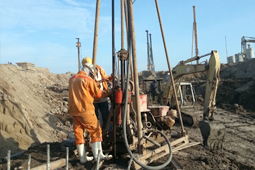 Core Drilling Test